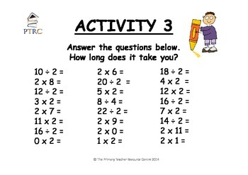 Terrific at Times Tables