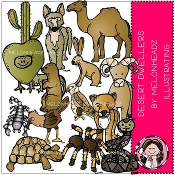Desert Dwellers clip art -  by Melonheadz