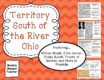 Territory South of the River Ohio: Tennessee History