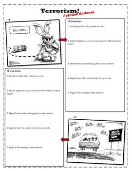 Terrorism Political Cartoons