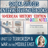 Terrorism & War in the Middle East Interactive Notebook