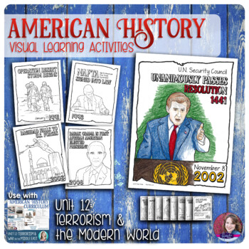 Terrorism and The Modern World Activities Bundle - US History