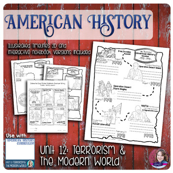 Terrorism and The Modern World Illustrated Timelines - US History