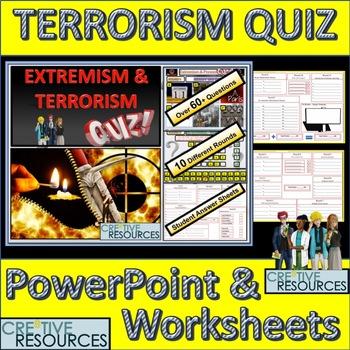 Terrorism and radicalisation