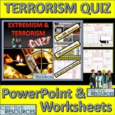Terrorism and radicalisation Lesson PowerPoint Quiz