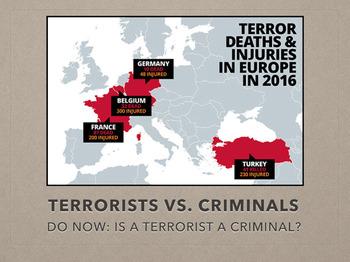 Terrorist vs. Criminal (Criminal Justice - Lesson 2.1)