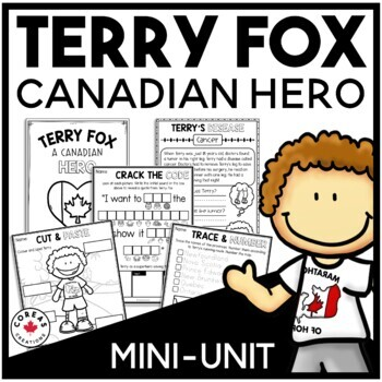 Terry Fox Activities for First Grade