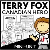 Terry Fox Activities for Grade 1
