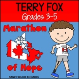 Terry Fox Activities: Reading, Writing and Math, Grades 3-5