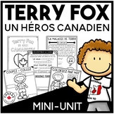 Terry Fox Activities for First Grade | FRENCH