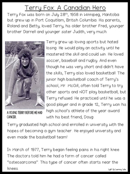 Terry Fox Bundle