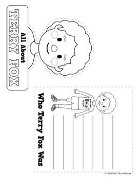 Terry Fox { Craftivity Pack }
