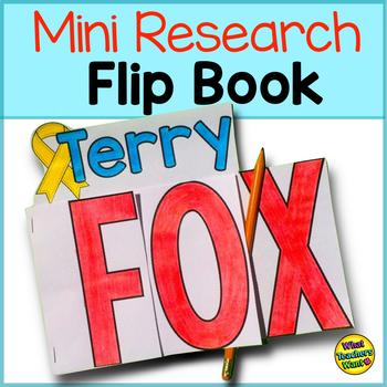 Terry Fox Flip Book