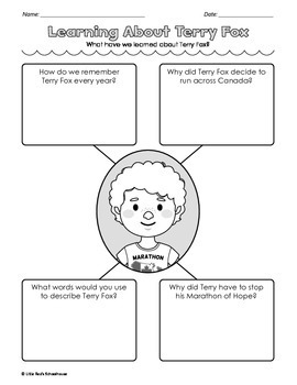 Terry Fox Biography and Comprehension