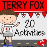 Terry Fox Activities for Grades 1-3