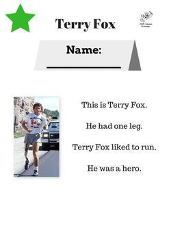 Terry Fox Leveled Reading