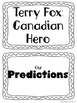 Shared Reading TERRY FOX Bundle 4 Ontario Curriculum