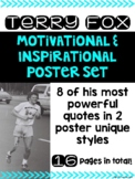 Terry Fox Motivational Posters