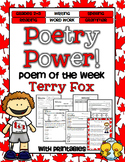 Poem of the Week: Terry Fox Poetry Power!