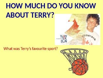 Terry Fox Trivia - Assembly Presentation