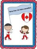 Terry Fox: Un héro canadien-Texte troué