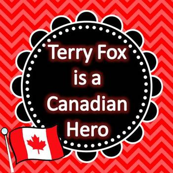 Terry Fox is a Canadian Hero - Information and Activity Page for Primary