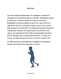 Terry Fox - paragraph reading