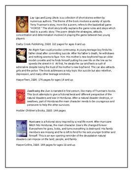 Terry Truman Author Study