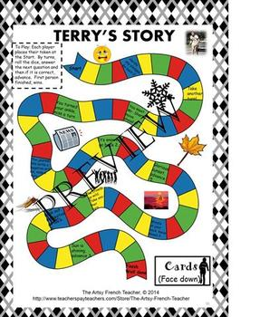 Terry's Story - Terry Fox's pictorial Marathon of Hope Language Unit
