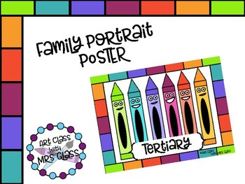 Tertiary Color Family Poster