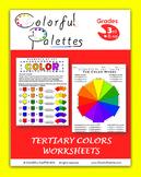 Tertiary Colors Worksheets (Intermediate Colors)