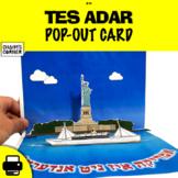 Tes Adar Pop-Out Card!