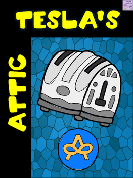 Tesla's Attic Book Review Activity (Neal Shusterman)