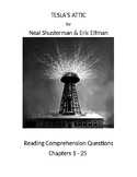 Tesla's Attic by Neal Shusterman - Reading Comprehension Q