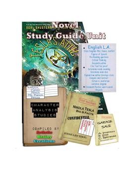 Teslau0027s Attic by Shusterman u0026 Elfman Novel Study Guide Reading STEM LA  sc 1 st  Teachers Pay Teachers & Teslau0027s Attic by Shusterman u0026 Elfman Novel Study Guide Reading ...