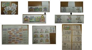 Tesoros Kinder  El vecindario de Quinito activities cscope common core