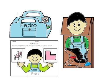 Tesoros Kinder La Silla de Pedro activities Cscope common core