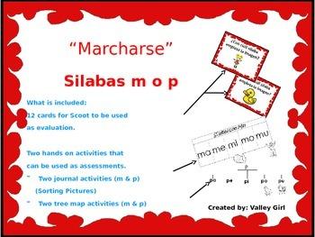 Tesoros: Unidad 1 Cuento 1 Silabas m o p (Marcharse y Actividades Interactivas)
