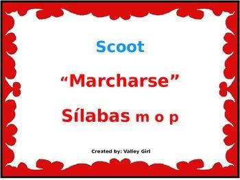 Tesoros: Unidad 1 Cuento 1 Silabas m o p (Marcharse y Acti