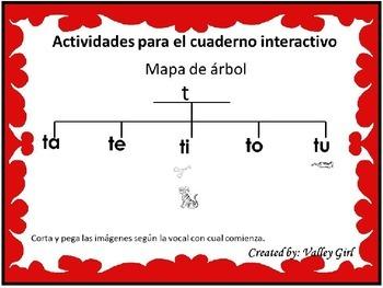 Tesoros: Unidad 1 Cuento 2: Silabas t o d (Marcharse y Actividades interactivas)