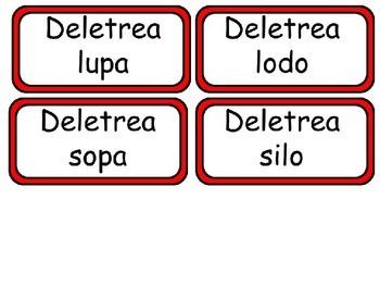 Tesoros: Unidad 1 Cuento 3 Silabas l  o s Abanica y Escoge y Coincidir conmigo