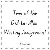 Tess of the D'Urbervilles Writing Assignment