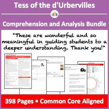 Tess of the d'Urbervilles – Comprehension and Analysis Bundle