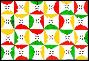 Tessellating Designs - Art & Geometry Activity