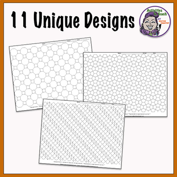 photograph regarding Tessellation Worksheets Printable identified as Tesselation Worksheets - Tremendous Trainer Worksheets