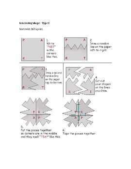Tessellation Project Step by Step (Geometry & Art)