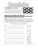 Tessellation Worksheet