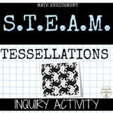 Tessellations Activity for spatial thinking and problem solving UPDATED