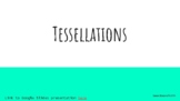 Tessellations Lesson