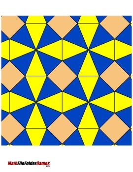 Tessellations (Part 3) {Geometry Activity}